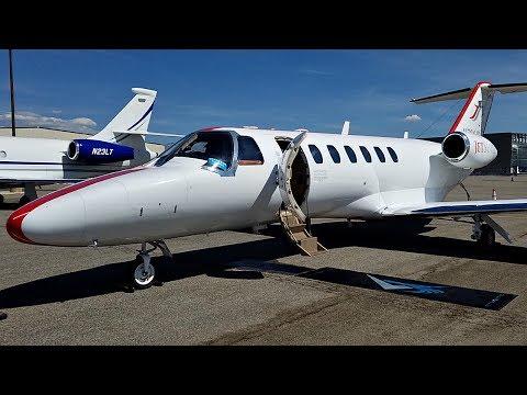 Flight on a JetSuite Edition Cessna Citation CJ3 (BUR to SLC)