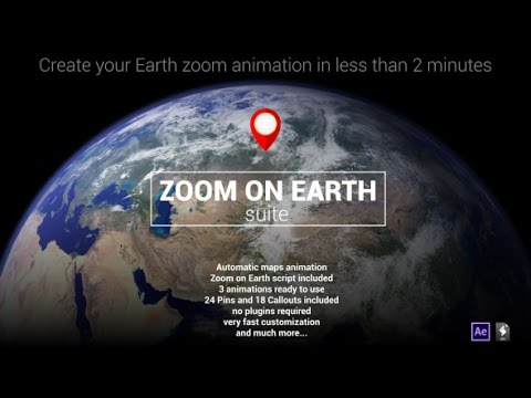 Zoom on earth suite after effects template youtube zoom on earth suite after effects template sciox Choice Image