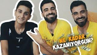 AYLIK NE KADAR KAZANIYORSUN ? (Yalçın Hiphop) #ParaBurda