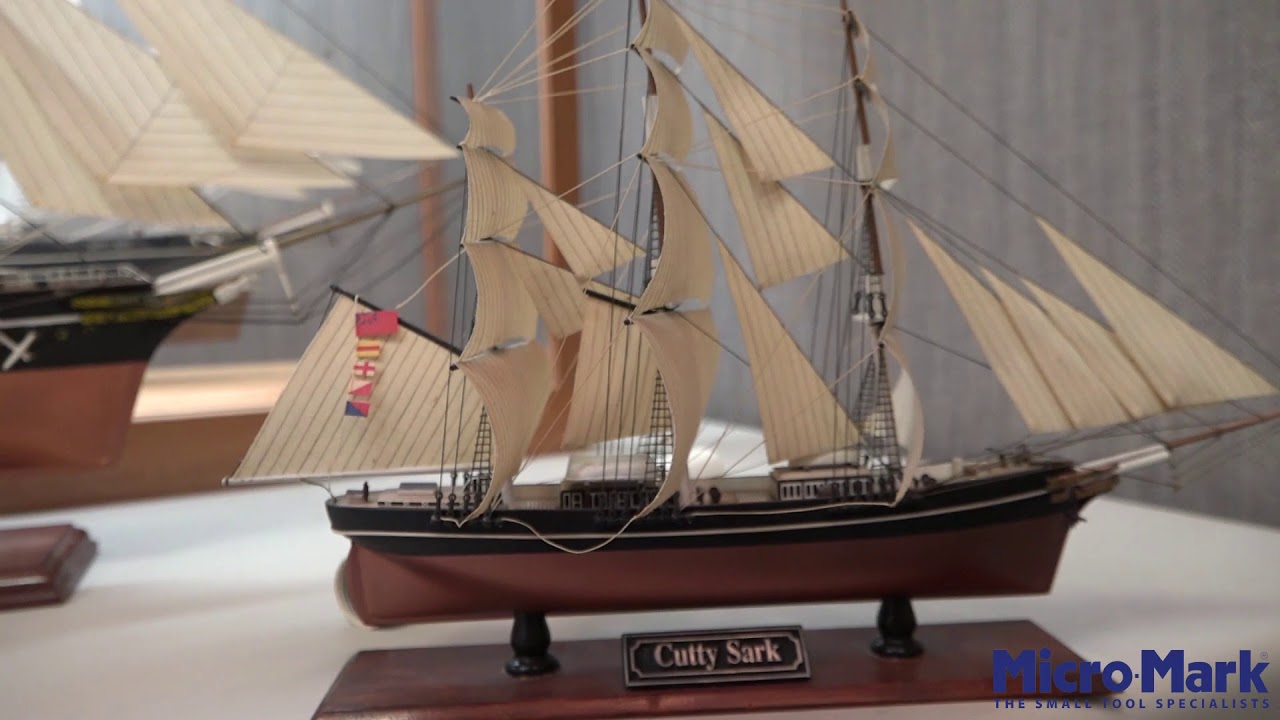 The Cutty Sark Wooden Model Ship Micromark Com Micro Mark