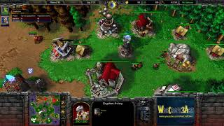 FoCuS(ORC) vs Romantic(HU) - WarCraft 3 Frozen Throne - RN4262