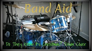Band Aid - Do They Know It's Christmas Drum Cover