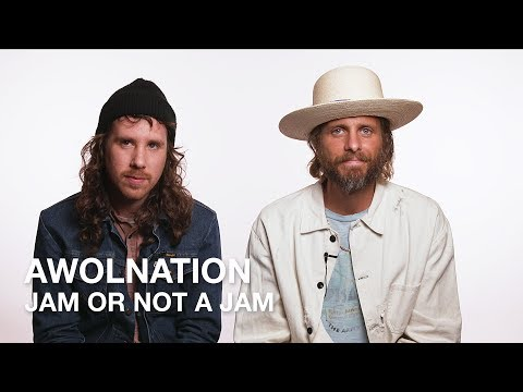 AWOLNATION Play Jam or Not a Jam!