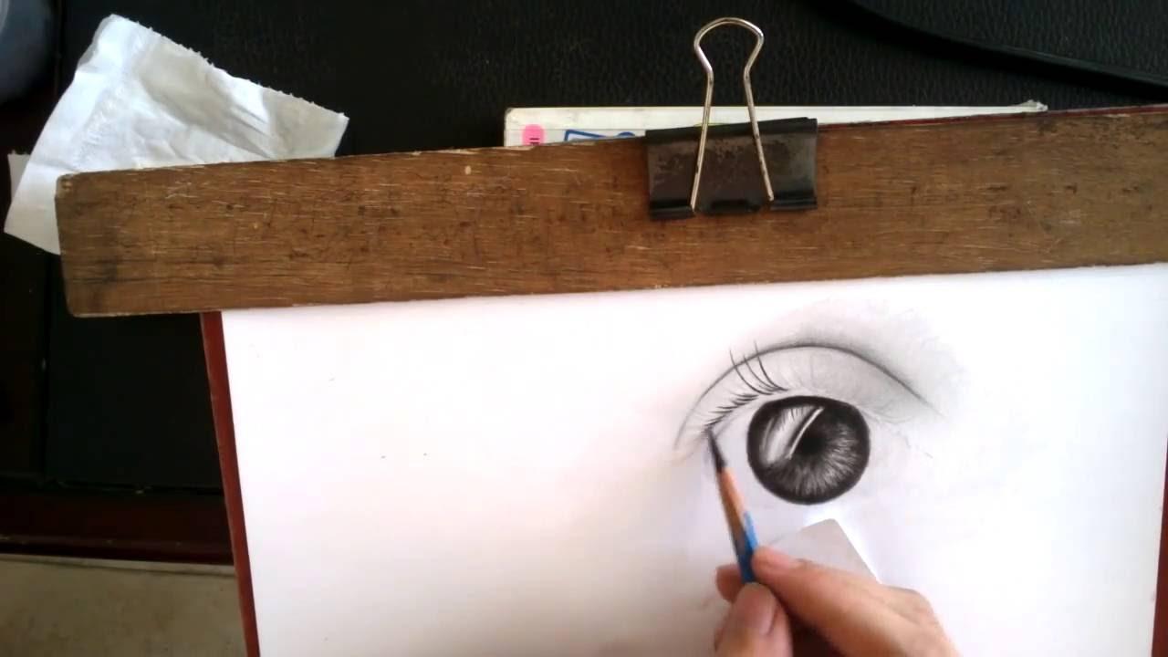 Hướng dẫn vẽ mắt-Quang Art (Nguyễn Hữu Quang)