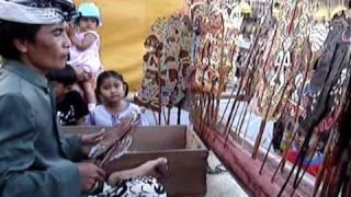 Wayang Kulit (Puppet Theatre) - Bali