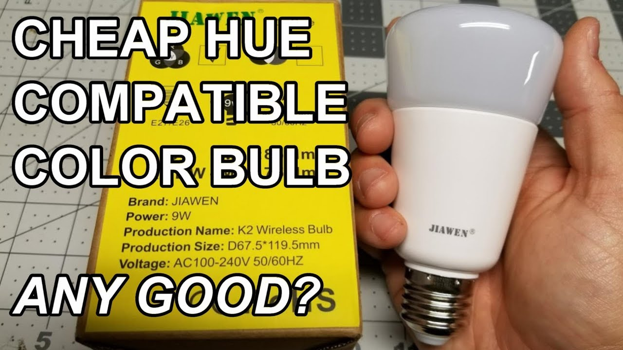 Review Jiawen Philips Hue Color Compatible Bulb For 30 Usd Or Less