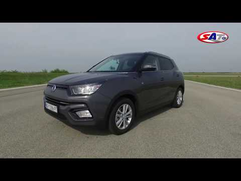 SsangYong Tivoli 24 h ON/OFF ROAD - Test on track NAVAK Mp3