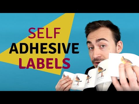 What are self adhesive labels ?