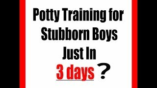 Potty Training | Potty Training Boys