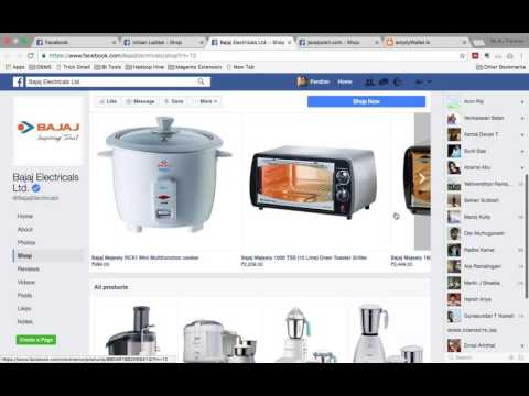 How to start Free Facebook E-Commerce Store Tutorial in Tamil - www.emptywallet.in