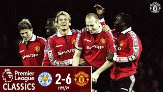 PL Classics | Leicester 2-6 Manchester United (1999) | #Treble99