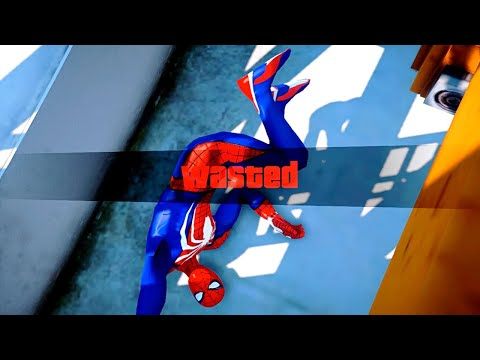GTA 5 Epic Wasted Compilation SpiderMan Flooded Los Santos ep.57 (Funny Moments)