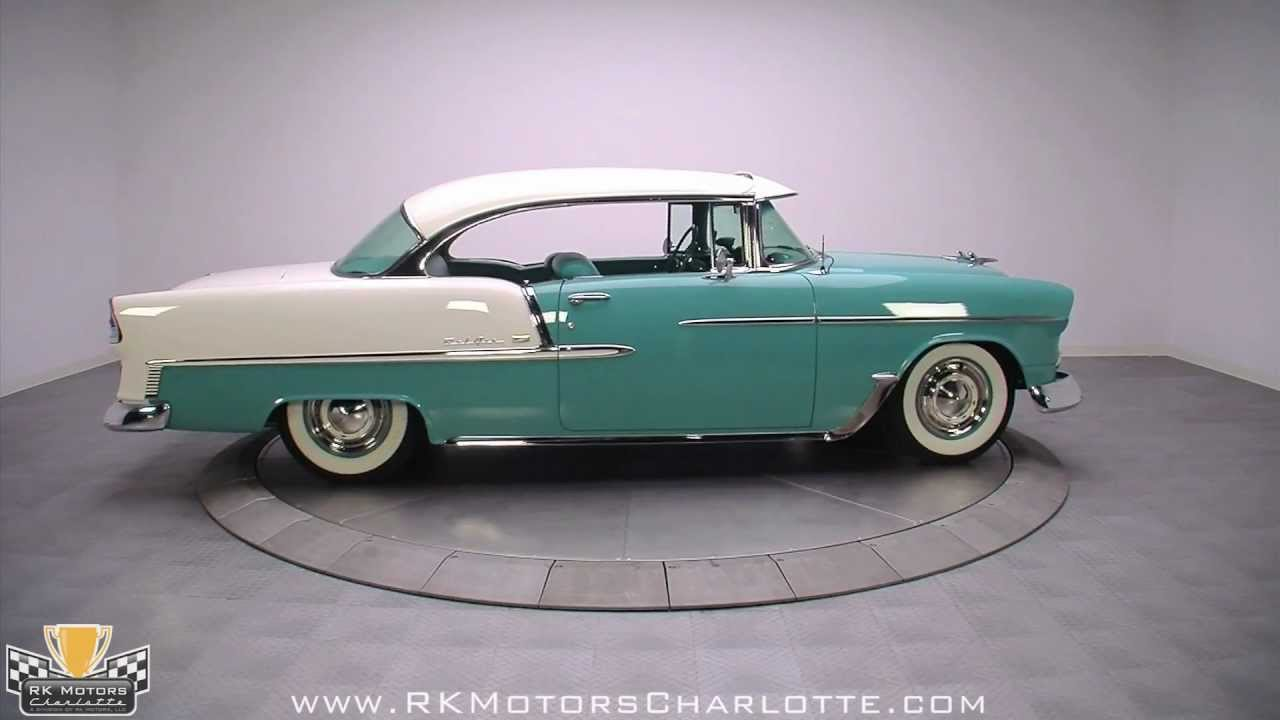 132454 1955 Chevy Bel Air Youtube