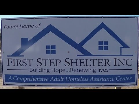 12 -13 -2017 First Step Shelter Ground Breaking of Volusia County in Dayton Beach Florida