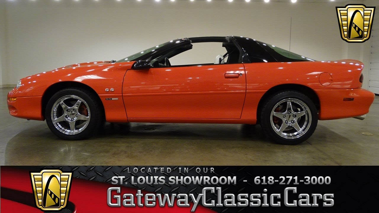 1999 chevrolet camaro ss for sale at gateway classic cars stl youtube rh youtube com 2002 Camaro Z28 1999 Camaro Factory Colors