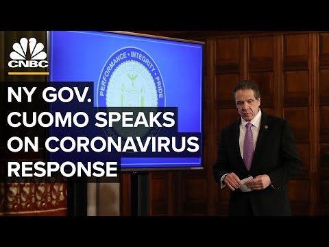 New York Gov. Andrew Cuomo speaks on coronavirus pandemic - 4/7/2020
