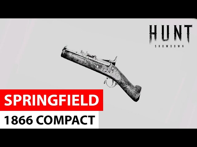 Springfield 1866 Compact in Hunt: Showdown