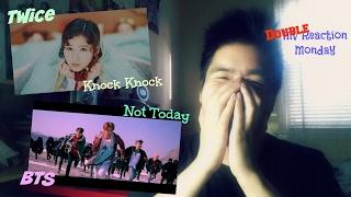 Twice - Knock Knock/Bangtan Boys (BTS) - Not Today (Double MV Reaction Monday) MP3