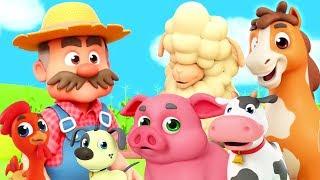 tua macdonald | sajak untuk bayi | lagu anak-anak | Old Macdonald Had A Farm | Nursery Rhymes