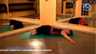 Упражнения для грудного отдела позвоночника - часть 1(Упражнения при межпозвонковой грыже - грудной отдел. часть 1 Для получения консультаций обращайтесь http://pilui..., 2012-08-29T05:22:04.000Z)