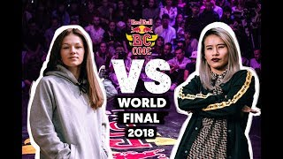 Red Bull BC One B-Girl World Final | Top 16: Kate (UKR) vs. Mini Japa (BRA)