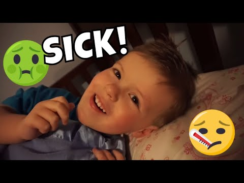 TWO SICK KIDS | ANDREW'S BEDTIME ROUTINE