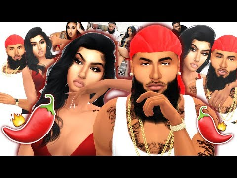 QUEEN NAIJA & CLARENCENYC IN THE SIMS 4 | SPICY MAFIA 🌶️🔥