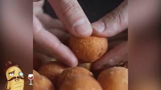 Жаренные сырные шарики | Гиф-повар.ру