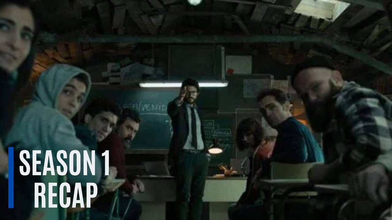 Download Money Heist | LA CASA DE PAPEL | TV Series | Season 1 | Recap