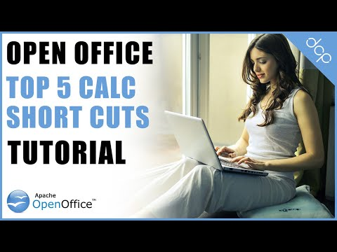 Top 5 Open Office Calc Short Cuts To Save You Time - Part 1