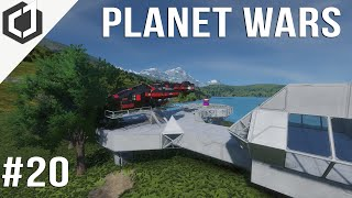 Space Engineers | PLANET WARS - EP 20 | UPGRADES!