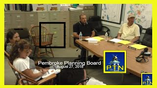 Pembroke Planning Board discusses housing production plan.
