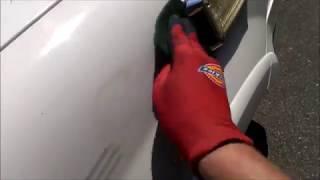 How to Remove automotive Sticker glue