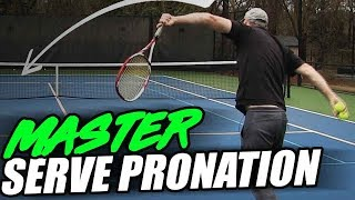 Tennis Serve Lesson: 3 Easy Exercises to Master Serve Pronation