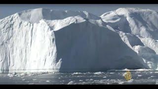 تسارع ذوبان الكتل الجليدية المكونة لجزيرة غرينلاند