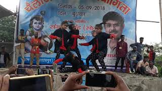 Dance competition at bokaro partapur site chas 2108