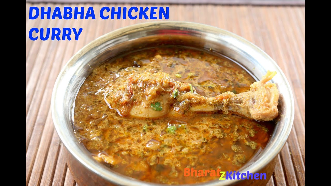 Dhabha Style Chicken Curry | Indian Chicken Curry | Simple ...