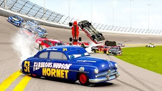Doc Hudson's Big Crash! | Forza Motorsport 6 | NASCAR/R Class