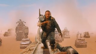 Фуриоса спасает Макса Рокатански — «Безумный Макс: Дорога ярости» (2015) сцена 9/10 HD