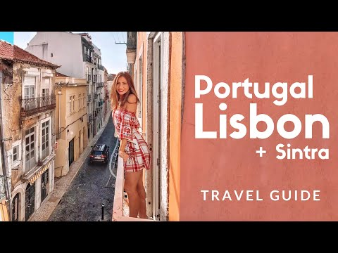 12 things to do in LISBON, Portugal! We visit Sintra, Timeout Market, lookout & Park Bar | EPISODE 1