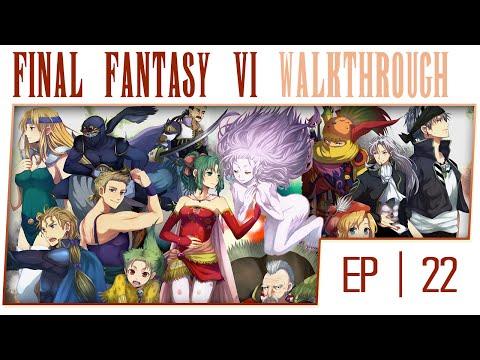 Final Fantasy 6 No Commentary Gameplay Walkthrough - Part 22 Esper's Gathering Place [Boss: Ultros]