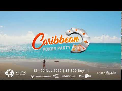 Caribbean Poker Party 2020 | 12 - 22 November 2020 | $5,300 Buy-In