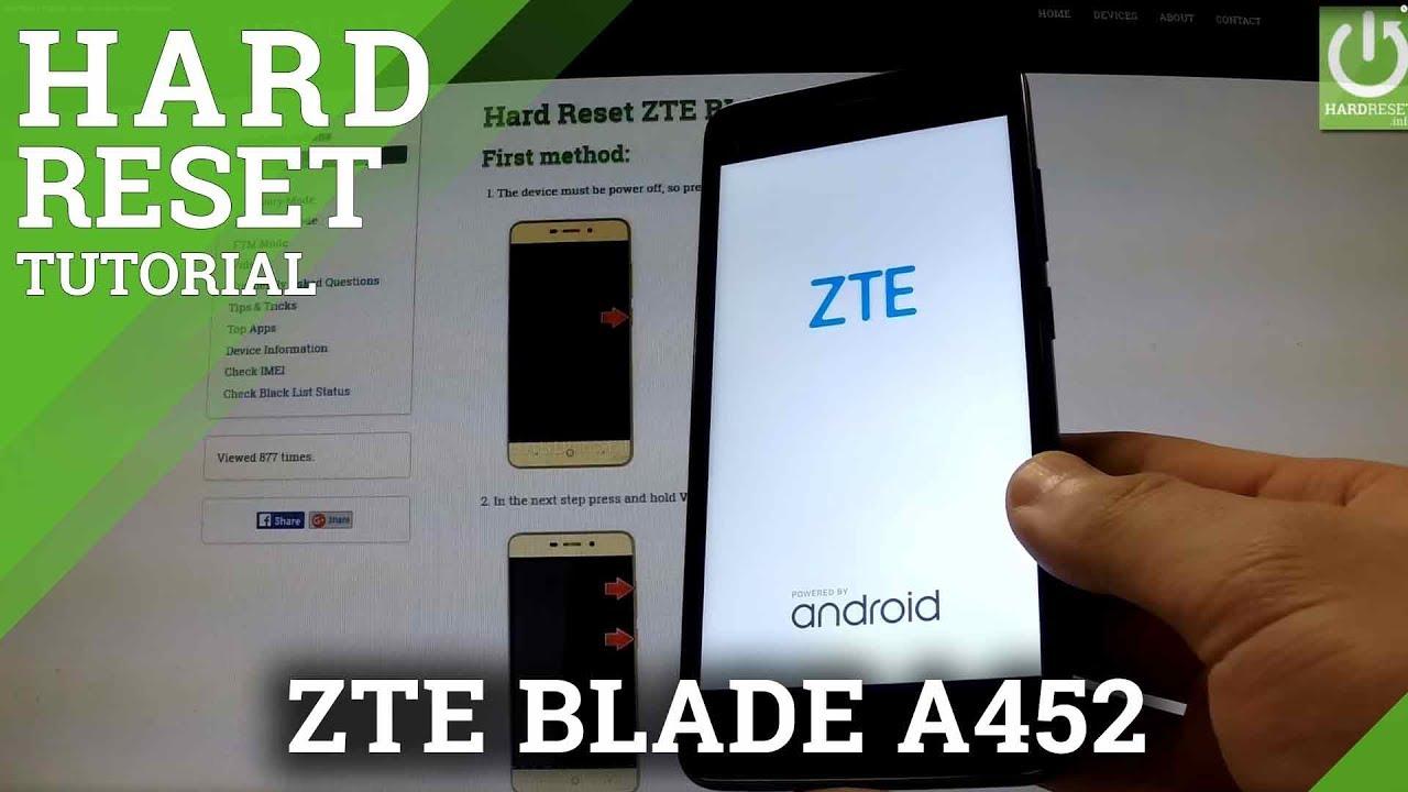 Hard Reset ZTE Majesty Pro Z798BL - HardReset info