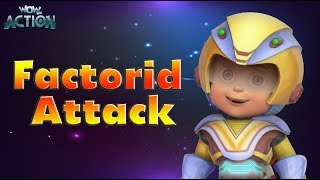 Hindi Cartoons for kids | Vir: The Robot Boy | Factroid Attack | WowKidz Action
