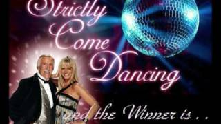 Strictly Come Dancing. The winners from series 1 - 6