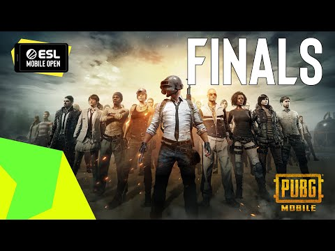 LIVE: ESL MOBILE OPEN EUR & MENA Season 2 Grand Finals - PUBG Mobile
