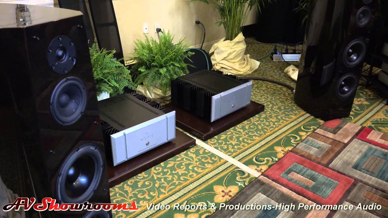 Sony loudspeakers vfet amplifiers new york audio show youtube