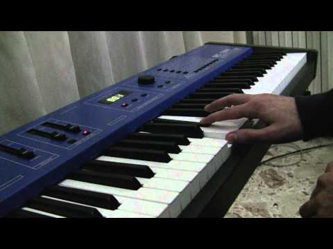 Rammstein - 5/4 on keyboard Choir sound from Symphony Of Voices (Oberheim MC 1000)