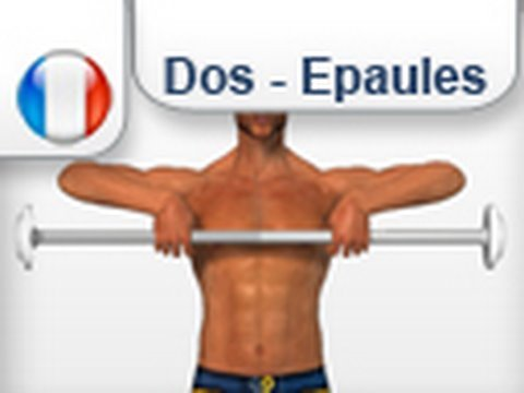 exericices Musculation trapèzes dos - YouTube cc457788ad5