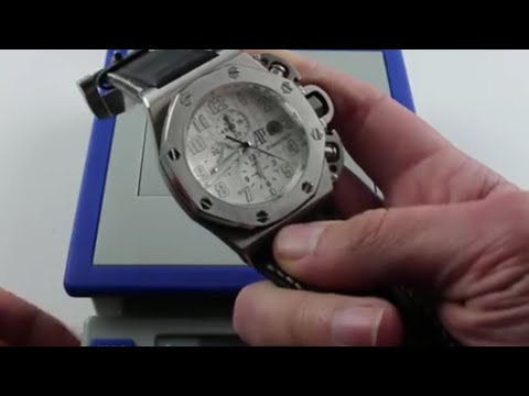 What's it Weigh? Jumbo Sports Watch Edition - AP Royal Oak Offshore T3 and more!
